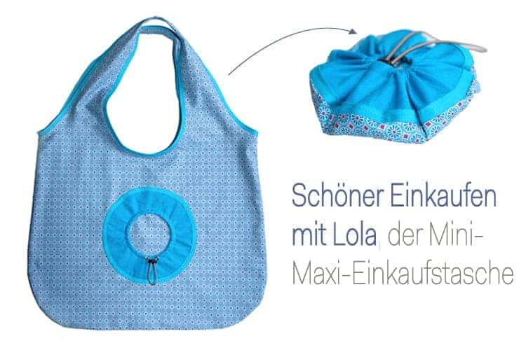 Falttasche Lola_b Schnittmuster