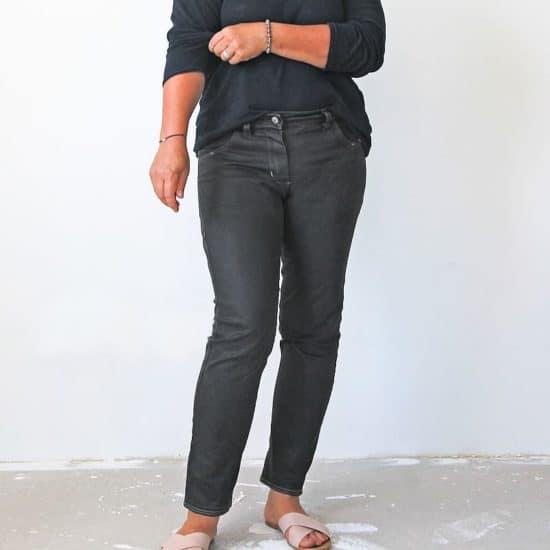 Schnittmuster jeans boyfriend naehen