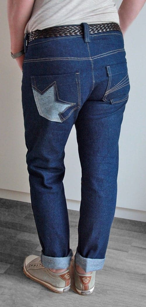 Schnittmuster für Jeans, Jeans nähen