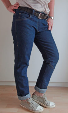 schnittmuster jeans damen