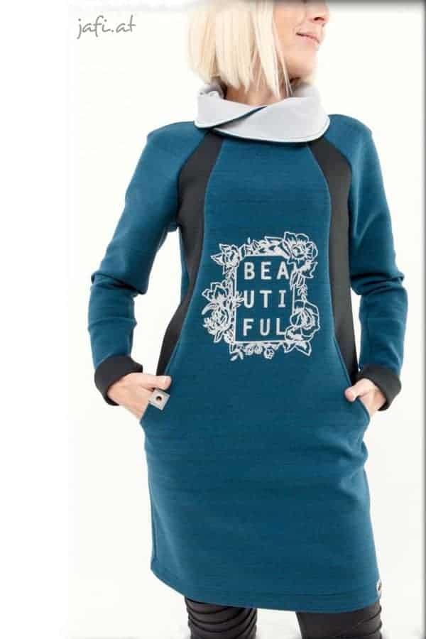 Schnittmuster Pullover Damen Kleid