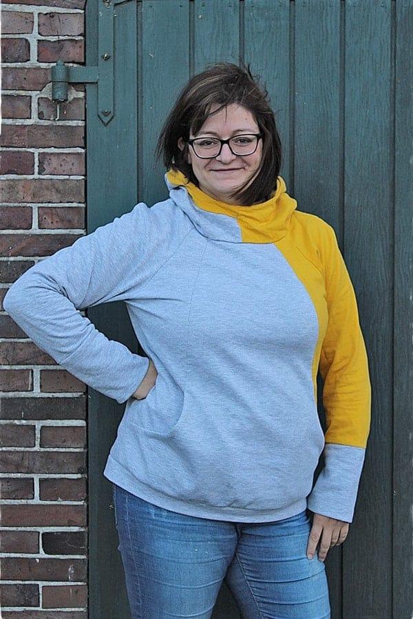 Schnittmuster Pullover große Größe
