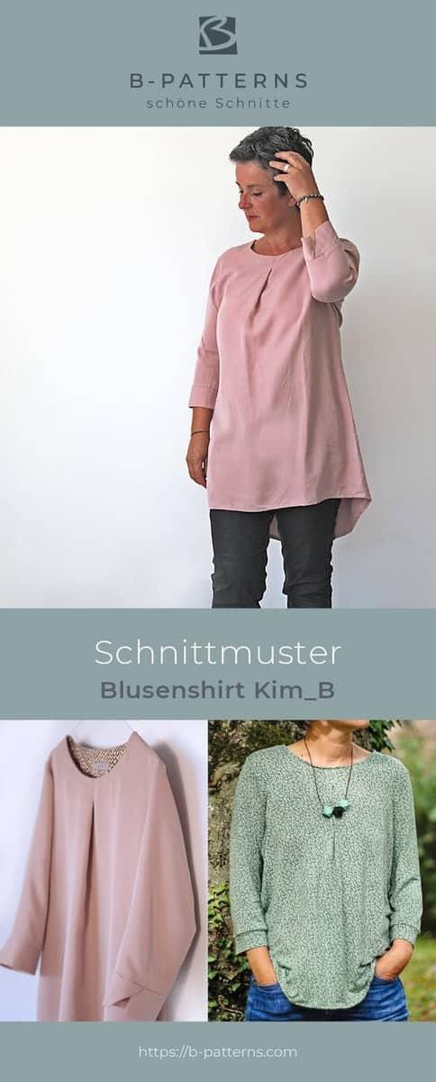 Schnittmuster Blusenshirt