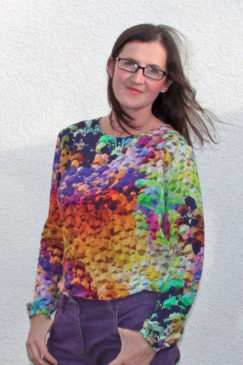 Blusenshirt Kim_B von www.facebook.com/lisimade