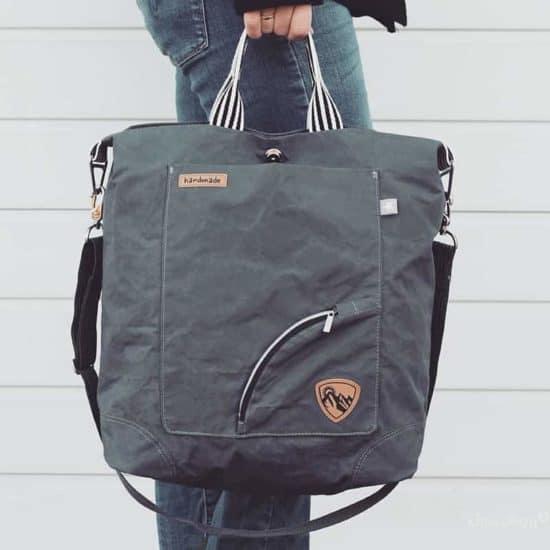 Schnittmuster für praktische Tasche Bi_bag