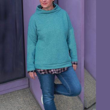 Schnittmuster Pullover für Damen
