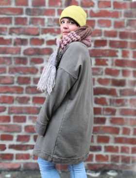 Schnittmuster Pullover Damen oversized