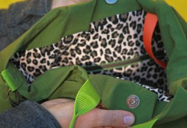 Taschenschnittmuster oilskin