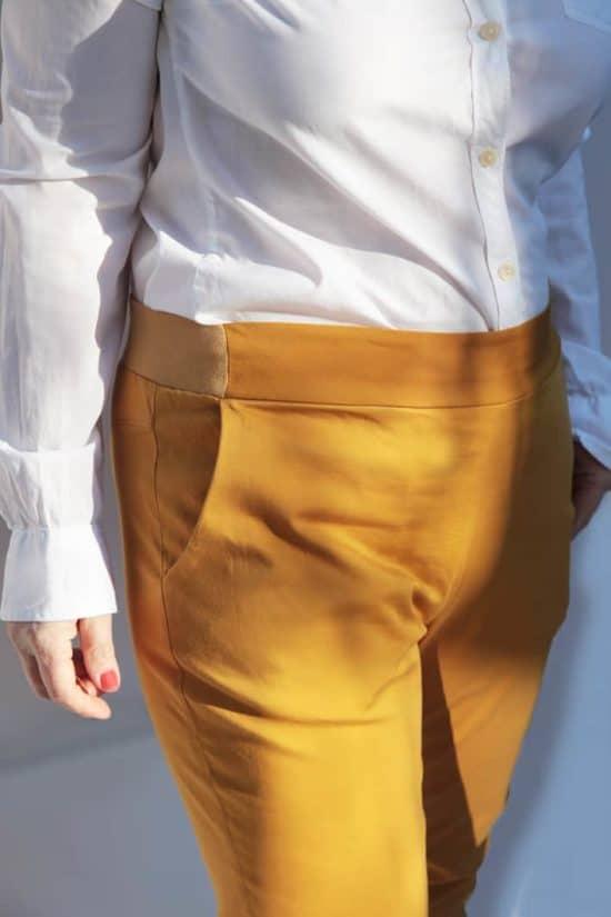 Schnittmuster klassische Hose ohne Verschluss