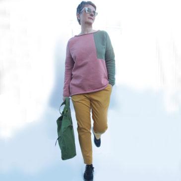 Schnittmuster Hose und Pullover Damen