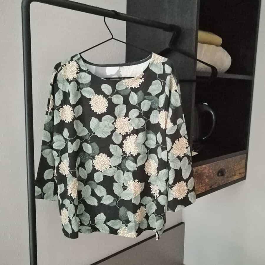 Bluse ohne Knopfleiste