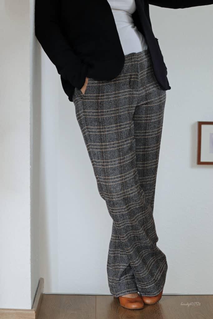 Schnittmuster Hose gerades Bein