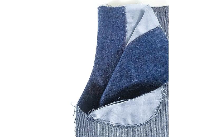 Tascheneingriff bügeln