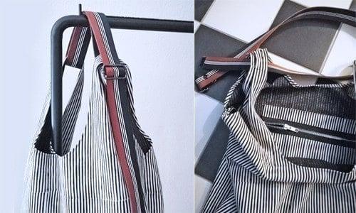 Schnittmuster Tasche einfach detail