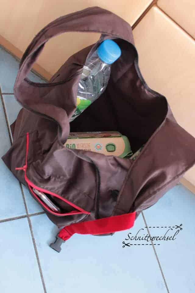 Schnittmuster einkaufstasche einfach