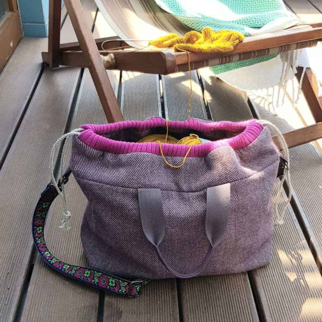 sewing pattern project bag
