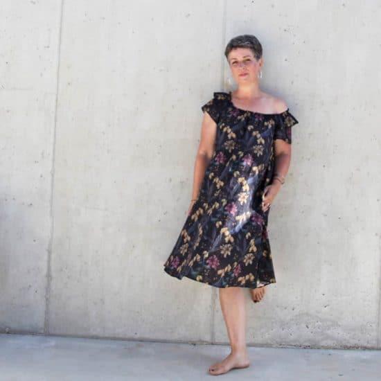 luftiges Sommerkleid aus Batist